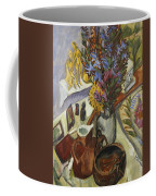 Still Life With Jug And African Bowl Coffee Mug by Ernst Ludwig Kirchner