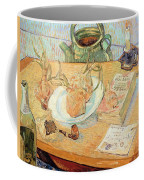 Still Life With Onions Coffee Mug by Vincent van Gogh