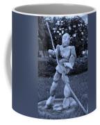 Stoneman In Cyan Coffee Mug by Rob Hans