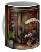 Storefront - Frenchtown Nj - The Boutique Coffee Mug by Mike Savad