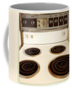 Stove Top Coffee Mug by Les Cunliffe