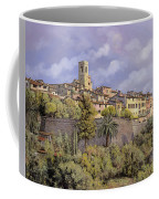 St.paul De Vence Coffee Mug by Guido Borelli