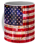 Street Star Spangled Banner Coffee Mug by Delphimages Photo Creations