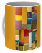 Strips And Pieces Ll Coffee Mug by Michelle Calkins