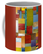 Strips And Pieces Lll Coffee Mug by Michelle Calkins