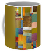 Strips And Pieces Lv Coffee Mug by Michelle Calkins
