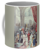 Study For A Costume Ball Given By The Princess Of Sagan Coffee Mug by Eugene-Louis Lami