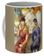 Study For The Soda Fountain Coffee Mug by William James Glackens