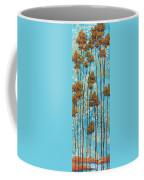 Stunning Abstract Landscape Elegant Trees Floating Dreams II By Megan Duncanson Coffee Mug by Megan Duncanson
