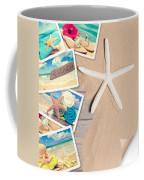 Summer Beach Postcards Coffee Mug by Amanda Elwell