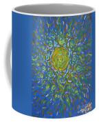 Sun Burst Of Squiggles Coffee Mug by Stefan Duncan