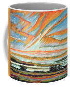 Sunrise Les Eboulements Quebec Coffee Mug by Patricia Eyre