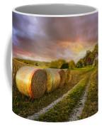 Sunset Farm Coffee Mug by Debra and Dave Vanderlaan