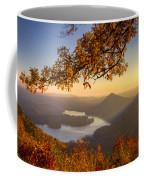 Sunset Light Coffee Mug by Debra and Dave Vanderlaan