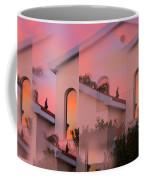 Sunsets On Houses Coffee Mug by Augusta Stylianou