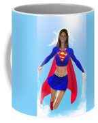 Super Nina Coffee Mug by Allan  Hughes