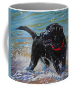 Surf Pup Coffee Mug by Molly Poole