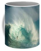 Surfing Jaws 3 Coffee Mug by Bob Christopher