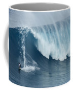 Surfing Jaws 5 Coffee Mug by Bob Christopher