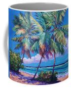 Swaying Palms  Coffee Mug by John Clark