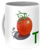 T Art Alphabet For Kids Room Coffee Mug by Irina Sztukowski