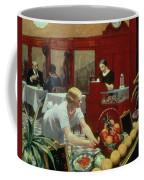 Tables For Ladies Coffee Mug by Edward Hopper