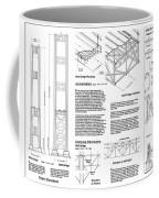 Tacoma Narrows Bridge Habs P2 Coffee Mug by Photo Researchers