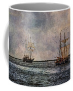 Tall Ships Coffee Mug by Dale Kincaid
