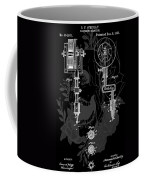 Tattoo Gun Patent Coffee Mug by Dan Sproul