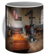 Teacher - First Day Of School Coffee Mug by Mike Savad