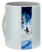 Telemark Trails Coffee Mug by Hanne Lore Koehler