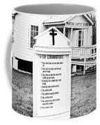 Ten Commandments Coffee Mug by Scott Pellegrin