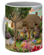 Thatched Cottage Coffee Mug by Adrian Chesterman