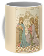 The Annunciation Of The Blessed Virgin Mary Coffee Mug by English School