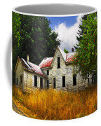The Apple Tree On The Hill Coffee Mug by Debra and Dave Vanderlaan