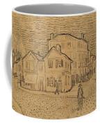 The Artists House In Arles Coffee Mug by Vincent Van Gogh
