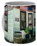The Barber Shop From A Different Era Coffee Mug by Paul Ward