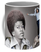 The Best Of Me - Handle With Care - Michael Jacksons Coffee Mug by Reggie Duffie