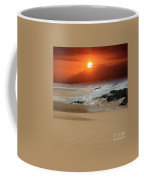 The Birth Of The Island Coffee Mug by Sharon Mau