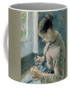 The Breakfast Coffee Mug by Camille Pissarro
