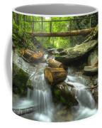 The Bridge At Alum Cave Coffee Mug by Debra and Dave Vanderlaan