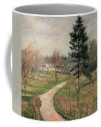 The Chateau At Busagny Coffee Mug by Camille Pissarro