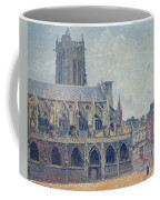 The Church Of St Jacques In Dieppe Coffee Mug by Camille Pissarro