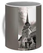 The Church With The Dormers On The Steeple Coffee Mug by Olivier Le Queinec