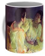 The Conversation Coffee Mug by Mary Stevenson Cassatt