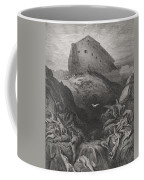 The Dove Sent Forth From The Ark Coffee Mug by Gustave Dore