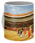The Entry Of The Bull Coffee Mug by Jean Leon Gerome
