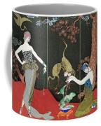 The Fashion For Lacquer Coffee Mug by Georges Barbier