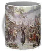 The First Sermon Ashore Coffee Mug by Jean Leon Gerome Ferris