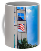 The Flag That Never Hides Coffee Mug by Rene Triay Photography